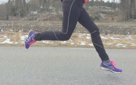 springer i mars lustfylld löpning